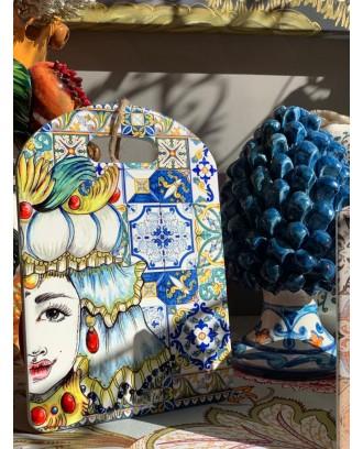 Tagliere in ceramica Regina...