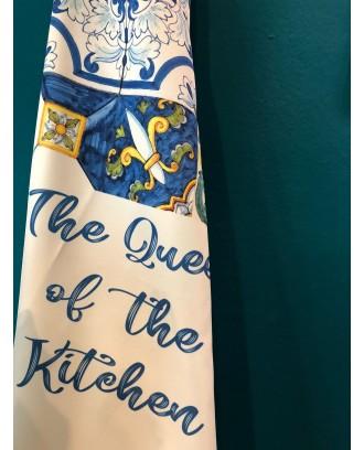 Grembiule The Queen Of The Kitchen Azzurra