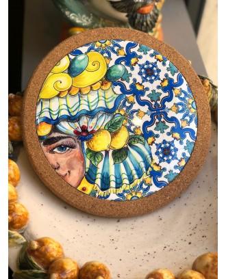 Sottopentola in ceramica e...
