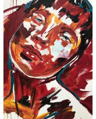 Sophie - Dipinto su tela acrilico a spatola