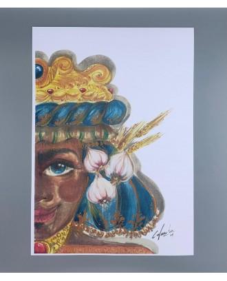 Litografia Antica Moretto...