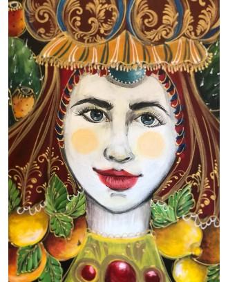 Regina di Sicilia dipinto...