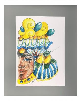 Litografia Moretto Queen