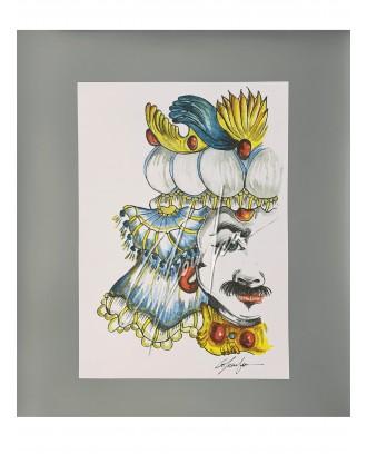 Litografia Azzurro King