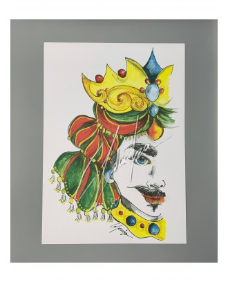 Litografia Rosso King